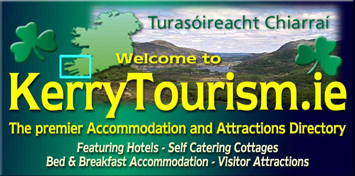 Welcome to Kerry Tourism - the Co. Kerry premier accommodation and attractions directory.